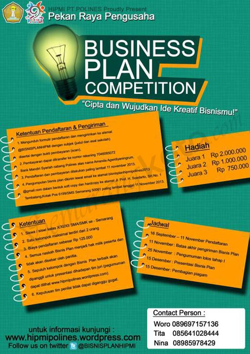 business-plan-competition-hipmi-polines-2013