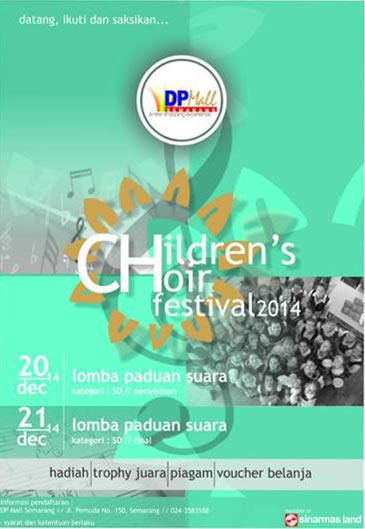 Children's Choir Festival 2014 Semarang