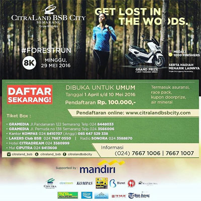 Citraland BSB City Forest Run - Semarang