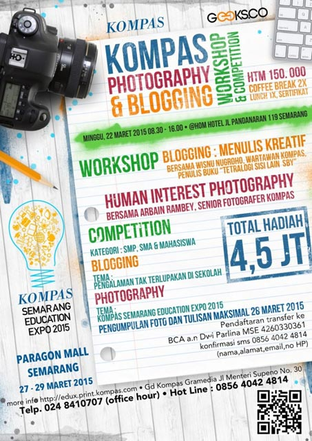 Kompas Photography & Blogging - Workshop - Competition