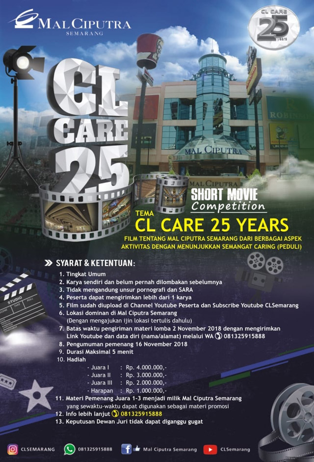 Lomba Video CL Care 25 Years