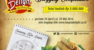 Lunpia Delight Blogging Competition - Semarang