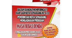 Bebas Denda Tunggakan PBB Kota Semarang