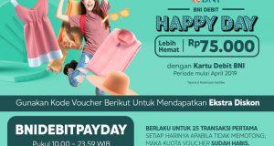 Blibli - BNI Debit Happy Day Lebih Hemat 75ribu