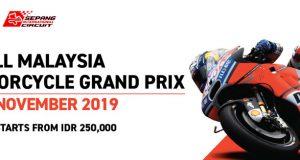Dapatkan Tiket Sepang Malaysia Grand Prix 2019 DISINI !