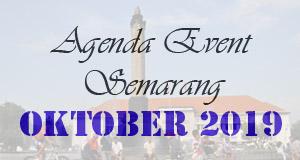 Jadwal Acara Event Oktober 2019 di Semarang
