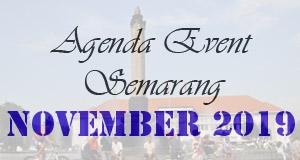 Jadwal Acara Event November 2019 di Semarang
