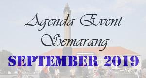 Jadwal Event September 2019 di Semarang