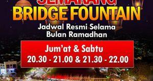 Jadwal Semarang Bridge Fountain Selama Bulan Ramadhan