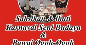 Karnaval Seni Budaya & Pawai Ogoh-Ogoh Semarang