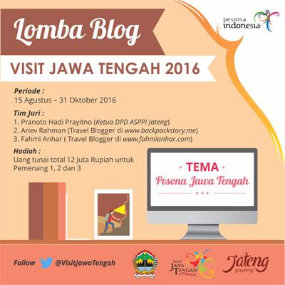 Lomba Blog Visit Jawa Tengah 2016