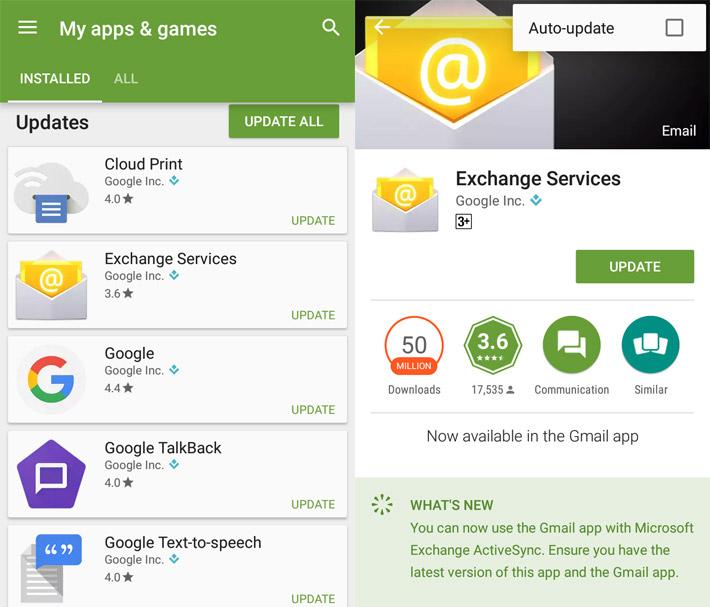 Menonaktifkan Fitur Auto Update di Aplikasi Android