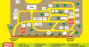 Denah Pasar Semarangan Tinjomoyo
