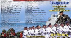Tamtama TNI AL tahun 2015